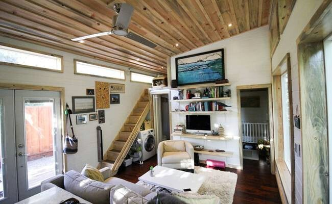 Young Couple Lives In A Baby Friendly 400 Square Foot Tiny