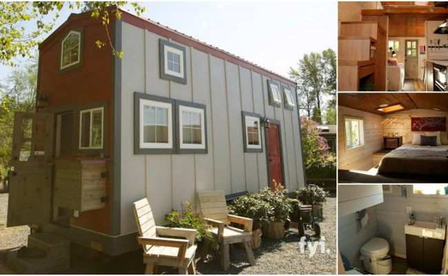 Tiny House Nation Featured Barn Inspired 300 Sq Ft Tiny