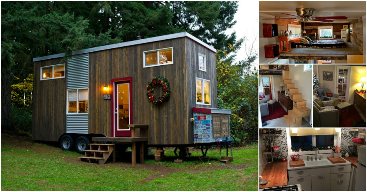 Empty Nester Builds Her Dream Tiny House {Tiny Home Tour}