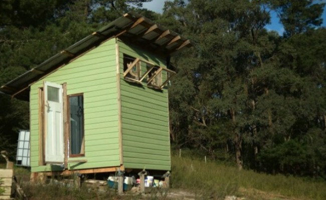 Couple Builds Tiny House Using Recycled Materials And Only