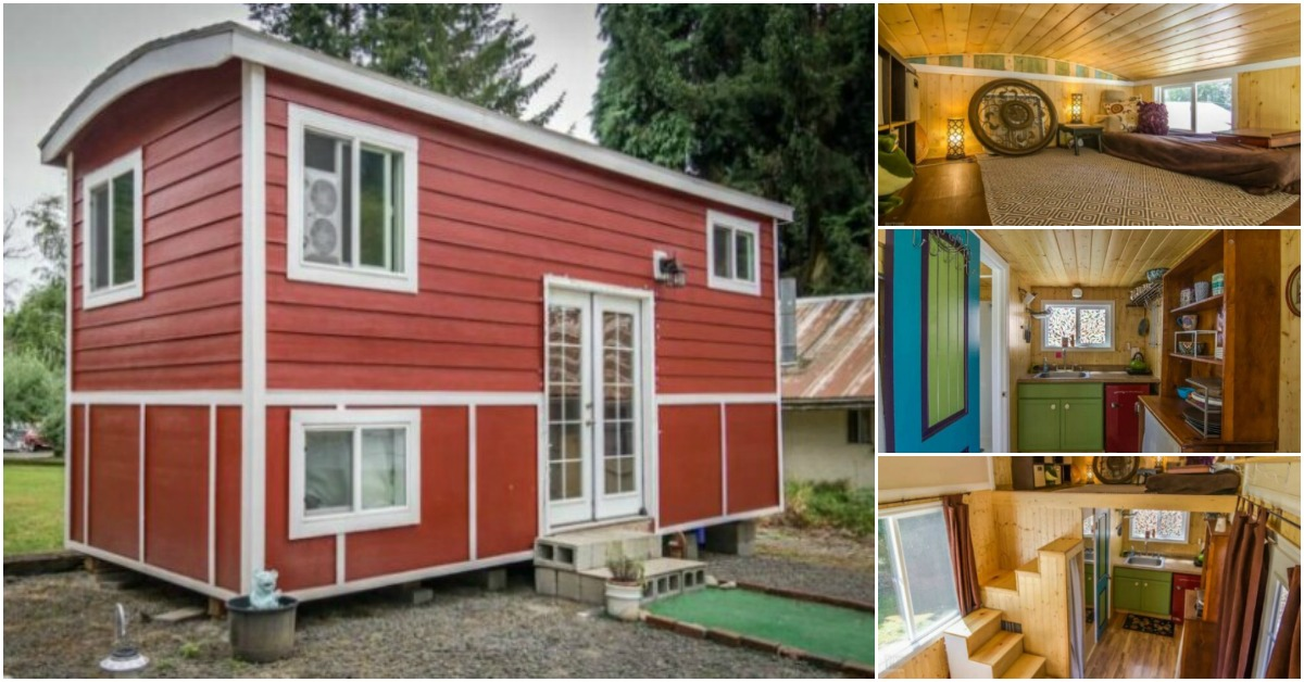 Oregon City Woman Designs Completely Customized Dream Tiny House
