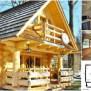 Lovely 296sf Handmade Tiny Log House By The Little Log