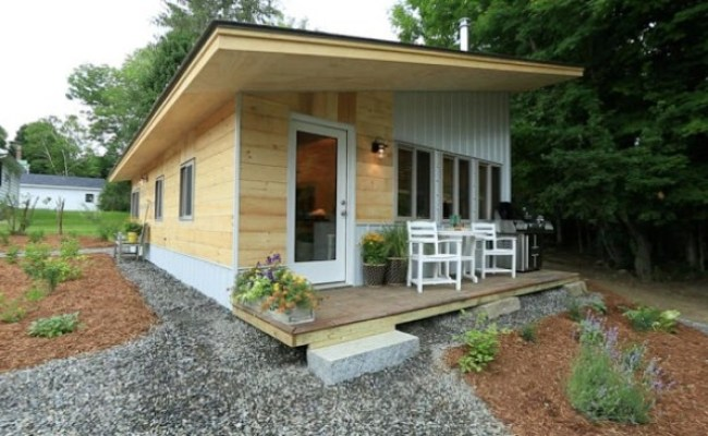 Thrifty Vermont Family Rent Main House And Live In Tiny