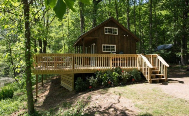 Book Your Next Vacation At The River Escape Tiny House In