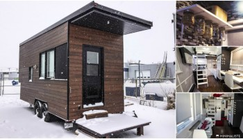 The 420 Square Foot Sakura Tiny House On Wheels By Minimaliste