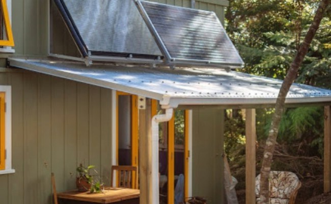 Beautiful Off Grid And Completely Custom 258sf Tiny House