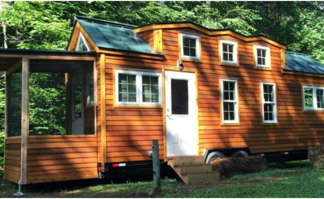276sf Tiny House Built For A Not So Tiny 6 10 Retired