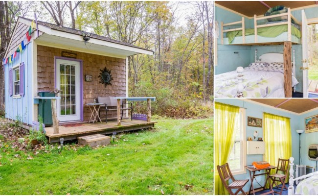 Picture Perfect Off Grid Tiny House For Rent In New York