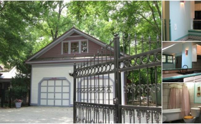 Atlanta Woman Turns Garage Of Historic Home Into Tiny