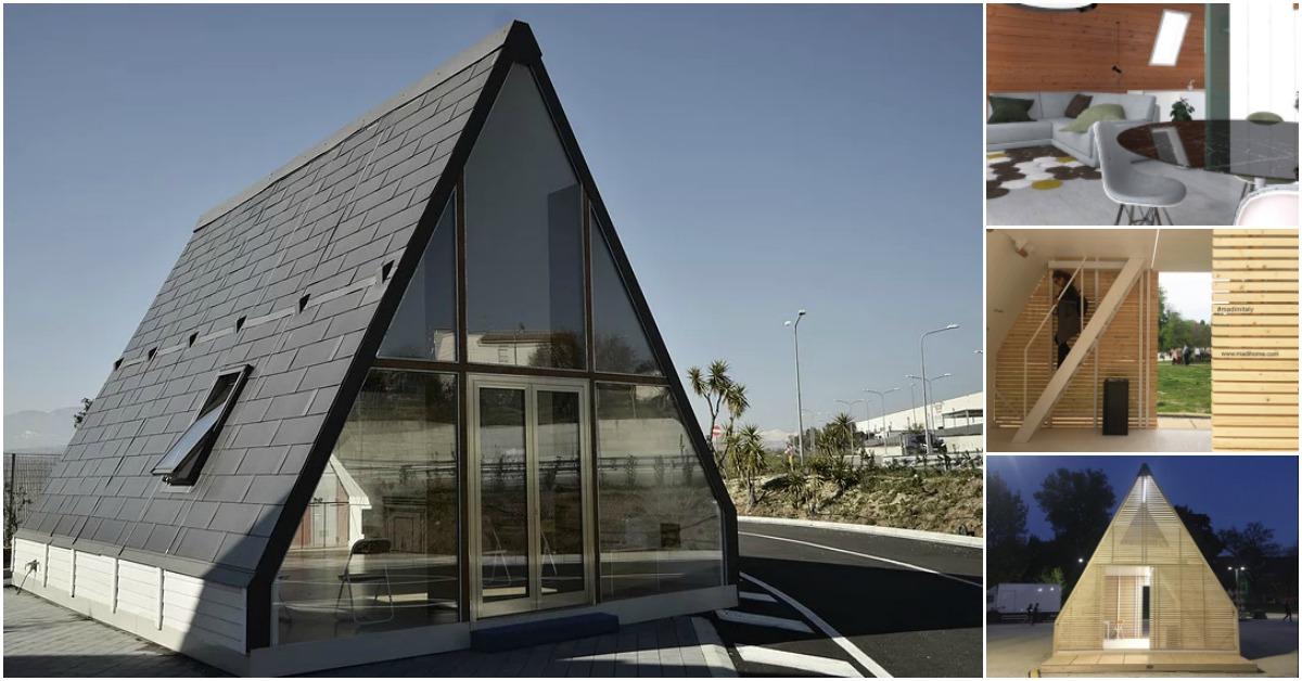 Italian Foldable Tiny House Gives Alternative To Living On