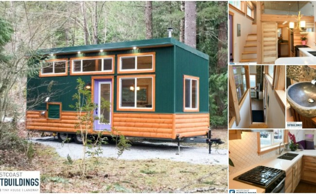 The 365 Square Foot Skookum Tiny House By Westcoast
