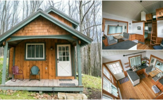 Sugar Magnolia Tiny House At Blue Moon Rising Community In