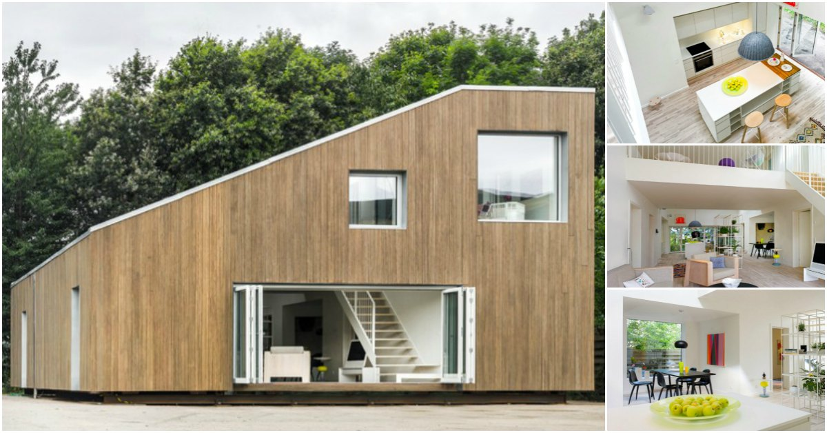 China Architects Design Adaptable Tiny House Base Made from Shipping Containers