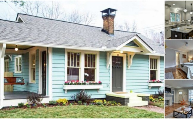 Atlanta Designer Gives Tiny House New Life In Living Color