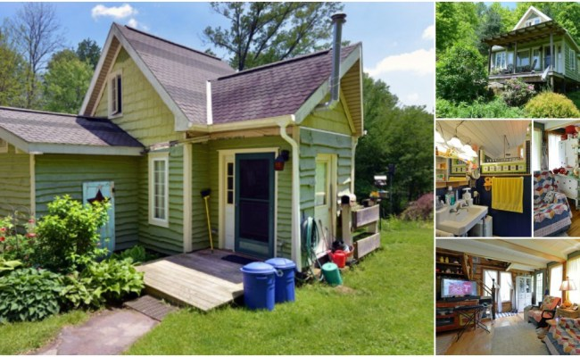 Ohio Couple Spend Six Years Building Eclectic 450 Square