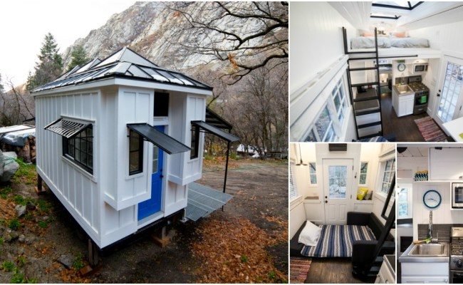 Utah Family Builds 192 Square Foot Home To Use As Income