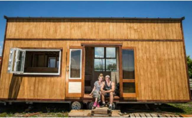 New Zealand Couple Build Tiny House To Live In During