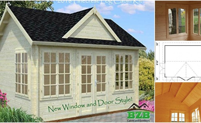 You Can Build This Log Cabin From A Kit Available On