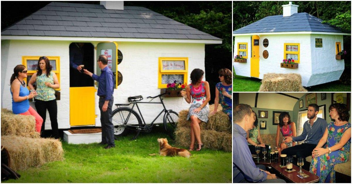 Welcome to the World's Tiniest Irish Pub