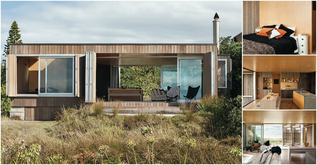 Whangapoua House Is a Luxurious Beachside Tiny House