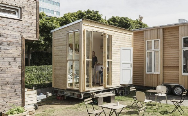 The Bauhaus Campus In Berlin Is An Experimental Tiny House