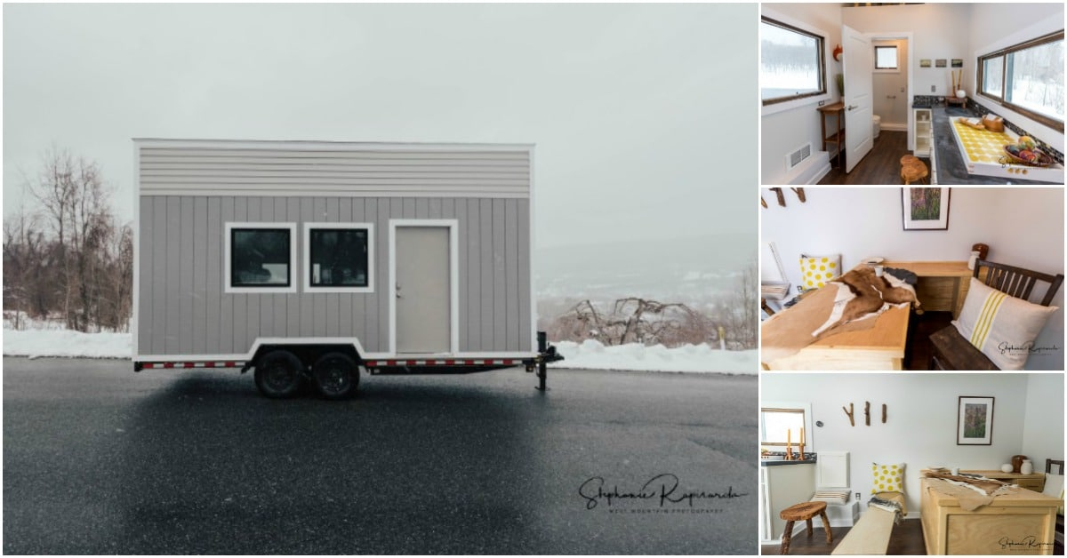 Brodie is a Unique Mobile Tiny Office Designed by B&B Micro Manufacturing