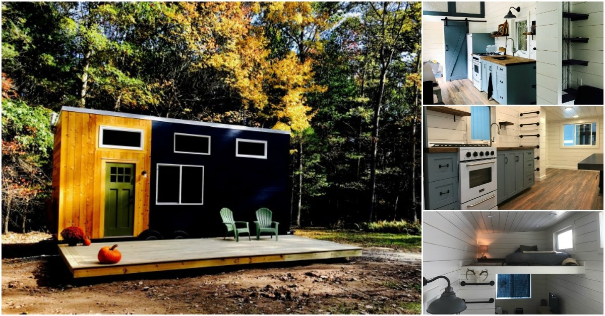 The Sparrow is a Distinctive Tiny House With Beauty That Stands Out