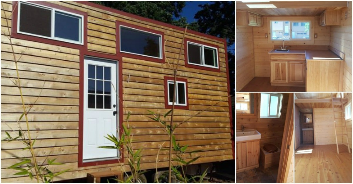 This Beautiful Cedar Tiny House is Looking for a New Owner