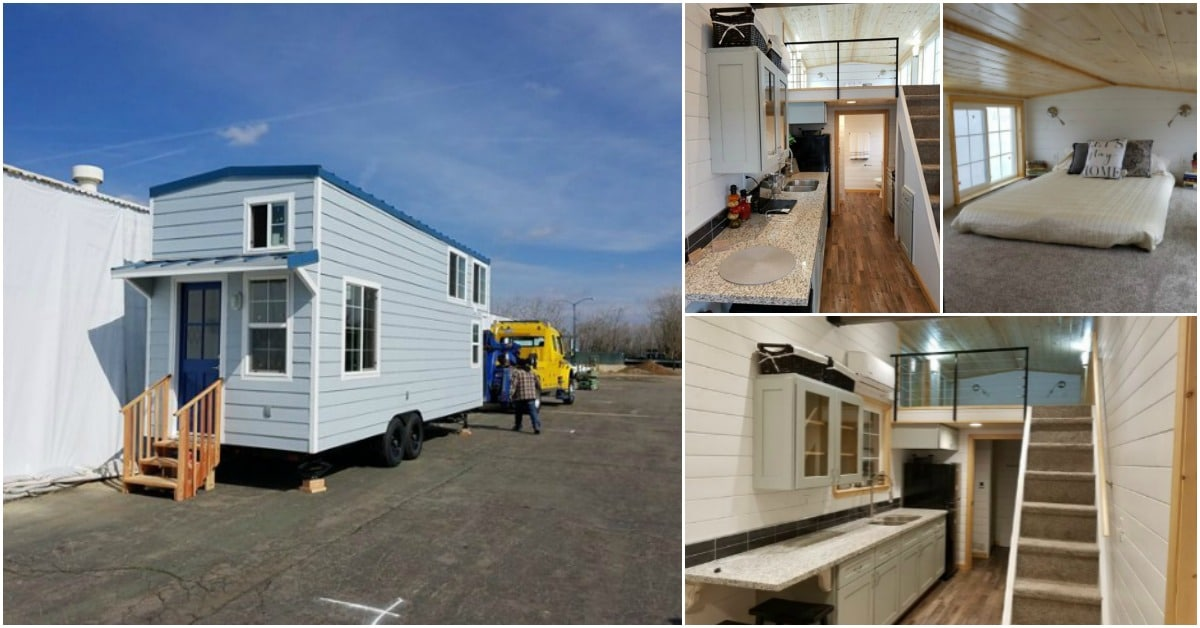 This Tiny House by Seabreeze Is a Fresh Breeze of Stunning Design