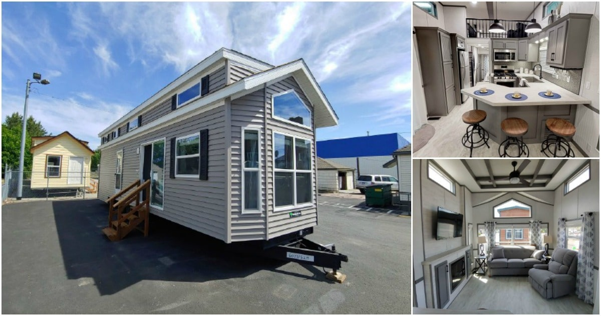 Cozy and Stylish Tiny House by Park Model Homes {Video House Tour}