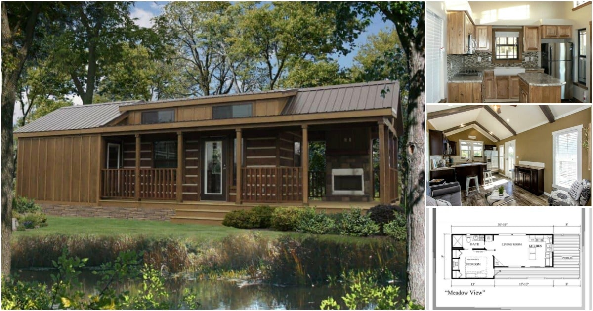 The Meadowview Tiny House Was Built for Lovers of the Great Outdoors