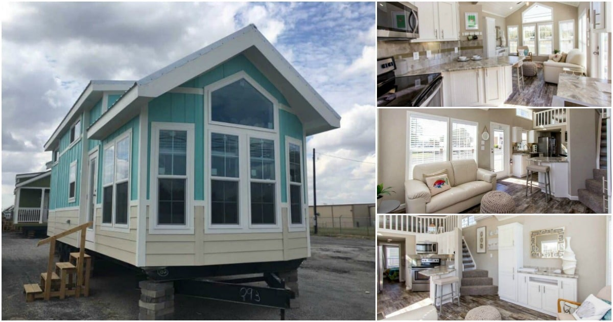 The Beach View Tiny House is a View In Itself