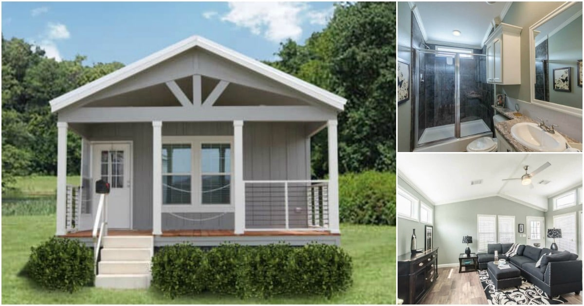 The Mini Mansion is an Exquisite Tiny House Measuring 18'