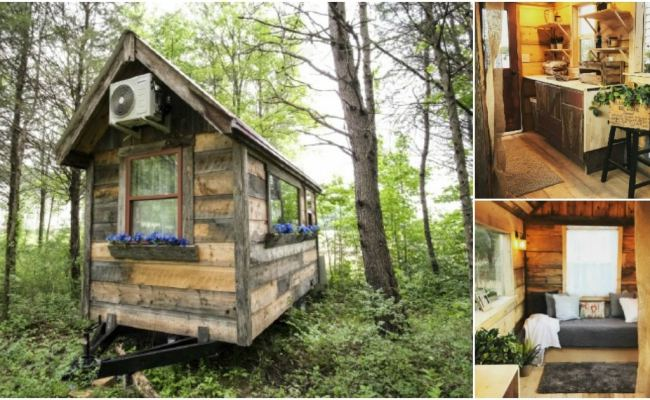 This Stunningly Artistic Woodsy Tiny House Starts At Just