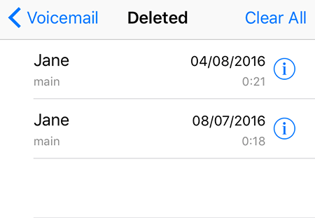 3 Methods to Delete Voicemails on iPhone 7/6s/6/5/5s [iOS
