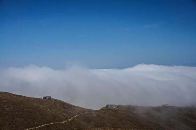 Lantau Mountain Camp in The Cloud at Sunset Peak  雲海   爛頭營   大東石室