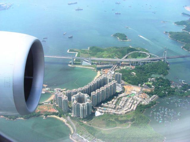Birdview of Ma Wan Island | 俯瞰馬灣