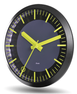 Bodet PROFIL TGV analogue clock product image