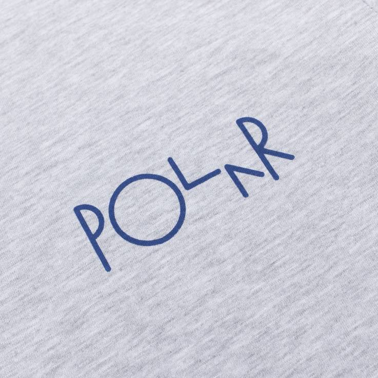 Polar Fill Logo Tee Heather Grey