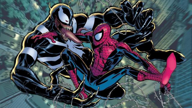 Image result for spider man and venom wallpaper