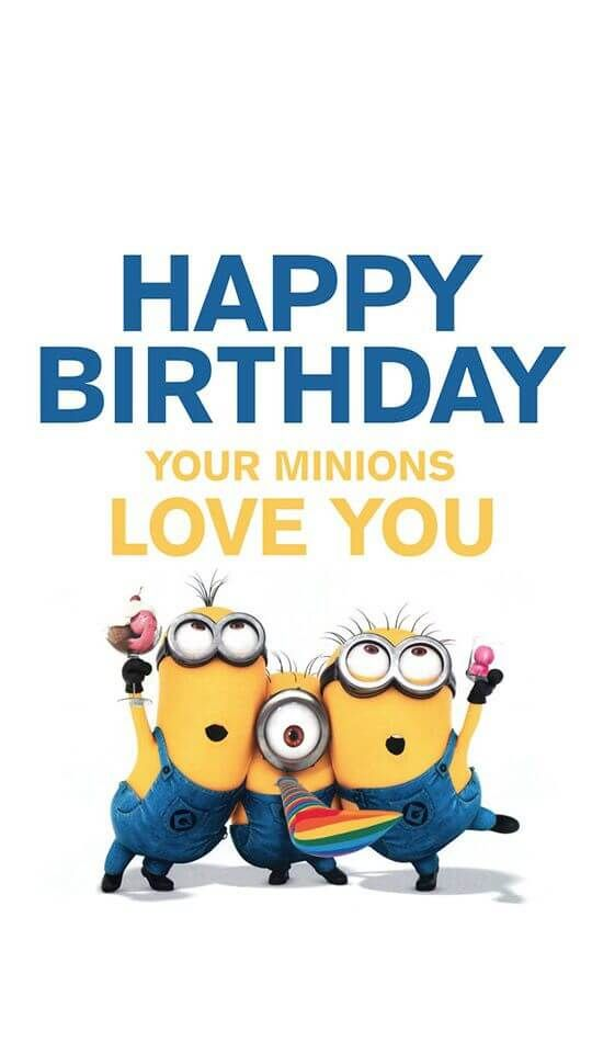Funny Happy Birthday Messages Minions Funny Wallpapers Happy Birthday Boy Minion 1668934 Hd Wallpaper Backgrounds Download