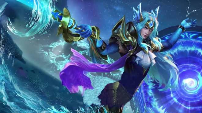 hilda - aries - mobile legends lancelot zodiac skin