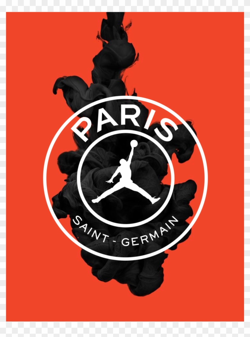 paris saint germain jordan logo