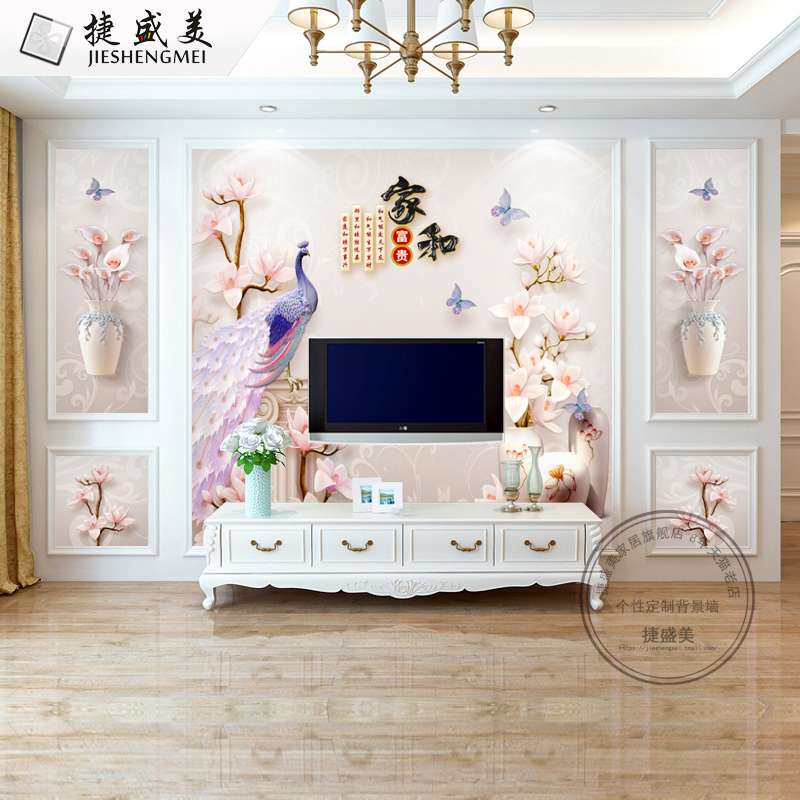 8d Tv Background Wall Paper Home Living Room Modern 5d Wallpaper For Home 3108200 Hd Wallpaper Backgrounds Download