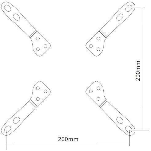 Tilt & Swivel Pivot TV Wall Bracket