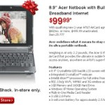 Great Gift for Holidays – a Netbook