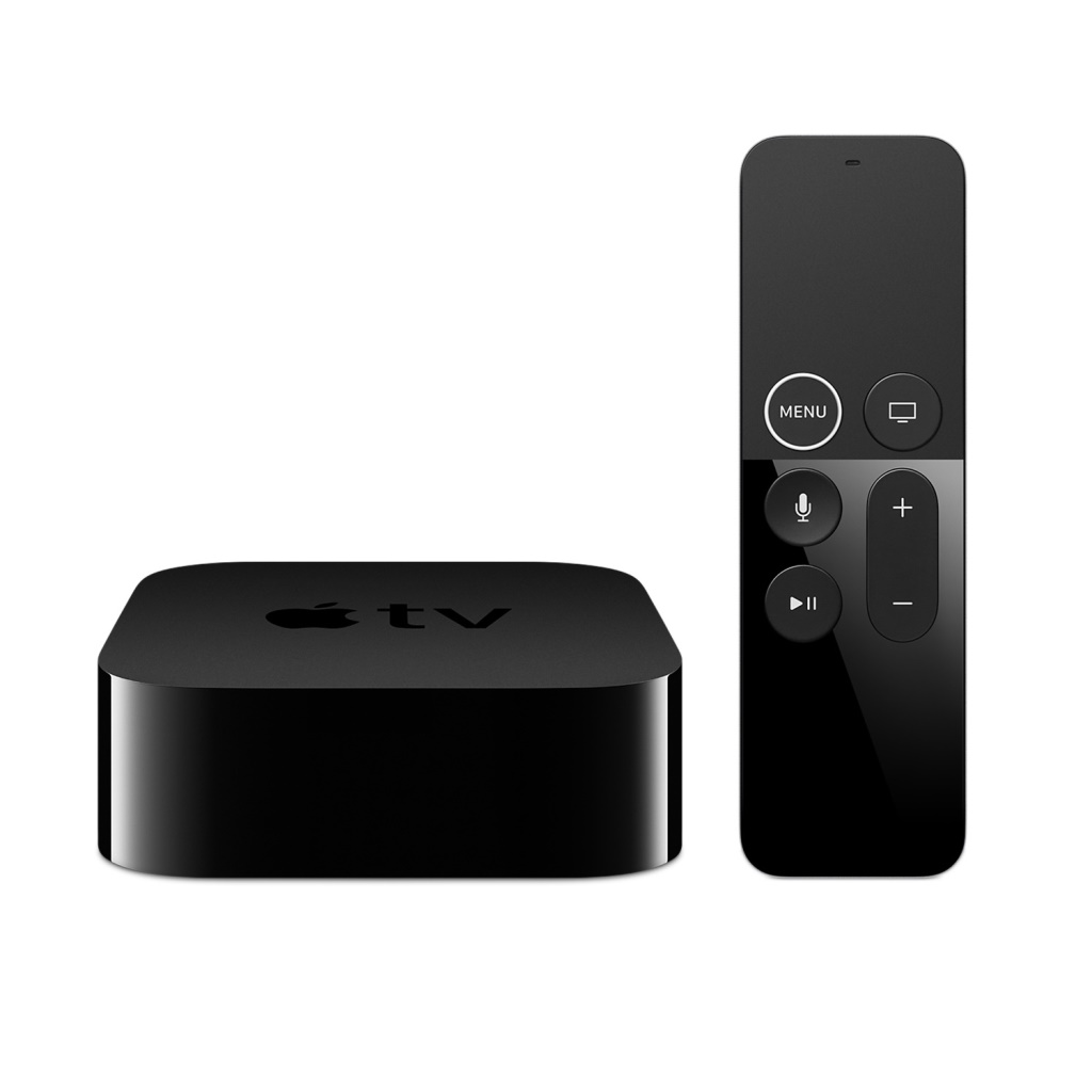 Apple TV 4K 64GB Built-In Bluetooth, Wi-Fi, IR receiver & Gigabit Ethernet.