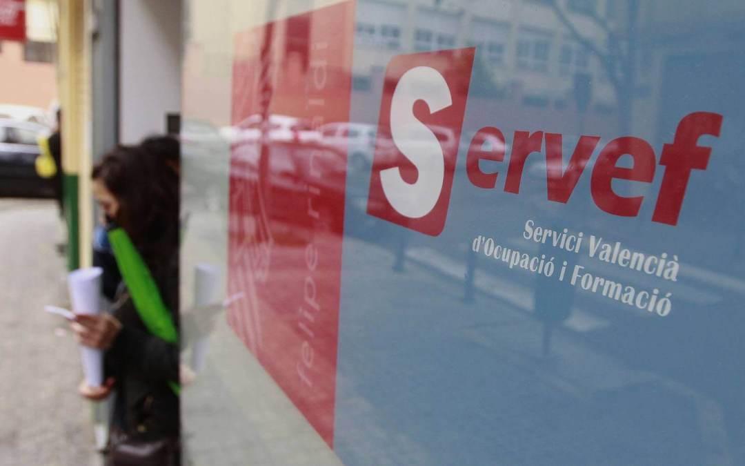 Cursos SERVEF 2019 para desempleados