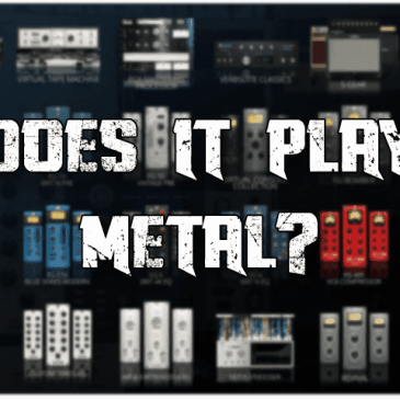 Slate Digital Everything Bundle, Does it Play Metal?