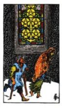 THE FIVES OF PENTACLES